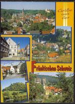 AK Grüße aus der Fränkischen Schweiz Mehrbildkarte     21/11
