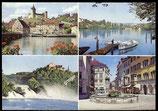 AK Schaffhausen, Mehrbildkarte    29-l
