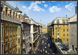 AK Genova, Via XX Settembre con la sfonda del Palazzo Ducale    41/18