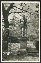 AK Schönhausen/Elbe, Herkulesstatue im Fürstl. Bismarkschen Park    35f