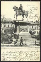 AK Deutsche Reichspost  1901, Gruß aus Elberfeld   20/21
