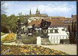 AK Prag Statuen im Garten des Vrtba-Palais    w49