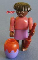 Faszinierendes Afrika von 1995  -Variante -Frau mit Krug    637300    3x