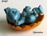 Die Drolly Dinos von 1993  - Däumelino  - ohne BPZ    -  11x