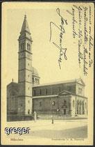AK Deutsches Reich München. Ursulakirche   37i