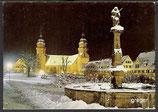 AK Freudenstadt, Marktplatz mit Stadkirche im Winter     26p