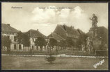 AK Rathenau, Lyceum mit Denkmal Großer Kurfürst   2/32