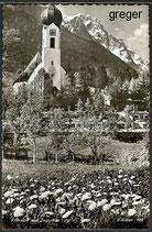 AK Grainau mit Zugspitze   57j