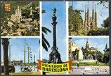 AK Barcelona, Mehrbildkarte  55/25