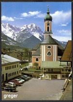 AK Garmisch. Kath. Pfarrkirche St. Martin    35m