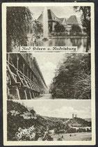 AK Bad Kosen und Rudelsburg     54/43