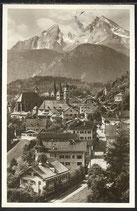 AK Deutsches Reich Berchtesgaden mit Watzmann 8/31