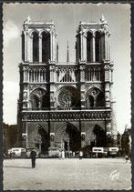 AK Paris Façade Notre-Dame    s/4