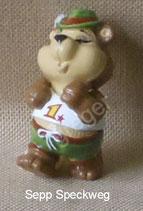 die Top Ten Teddys im Traumurlaub von 1999  - Sepp Speckweg  -  ohne BPZ   - 3x