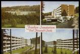 AK Bad Neustadt/Saale, Franken-Sanatorium, Mehrbild   69/10