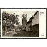 AK Deutsches Reich 1932 Ladenburg a. Neckar mit Hexenturm    7/3