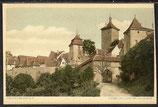 AK Rothenburg o.d. Tauber, Kobolzellertor von Aussen   30/34