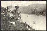 AK Deutsches Reich, postal gelaufen 1911, Schloss Rheinstein   31/38