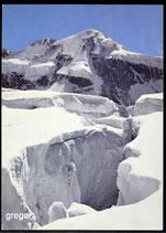 AK Gletscherspalte mit Piz Roseg   61/2
