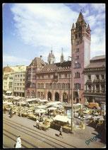 AK Basel, Rathaus am Marktplatz    64/23