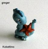 Die Drolly Dinos von 1993  -  Kocketino   - ohne BPZ   - 3x