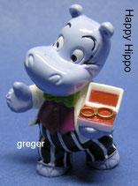 Happy Hippo Hochzeit von 1999  - Happy Hippo  - mit BPZ  -   1x