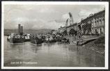 AK Deutsches Reich 1913 Linz a.d.D. Umschlagplatz 10/29