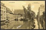 AK Nürnberg Wassererpartie mit Heilig Geist Spital   40/49