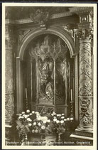 AK D.Reich von 1930  Wallfahrtskirche Maria Ramersdorf, München Gnadenbild   32/14