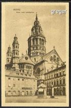 AK Mainz, Dom vom Leichplatz      91h