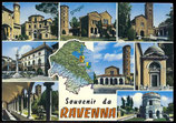 AK Ravenna Italien, Mehrbildkarte      62/19