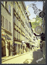 AK Salzburg, Altstadt - Getreidegasse     52/45