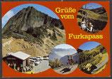 AK Grüsse vom Furkapass, Mehrbildkarte     54/41