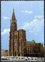 AK Strassbourg, La Cathédrale   3-o