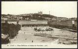 AK Lyon, Place Bellecour et Coteau de Fouvière   40/33