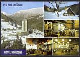 AK Krkonoše Hotel Horizont Mehrbildkarte   w30