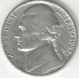 Kursmünze USA FIVE CENTS von 1985 P  3x