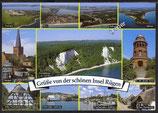 AK Insel Rügen Mehrbildkarte    v 41