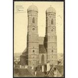 AK Deutsches Reich 25.VI.10 München Frauenkirche 7/6