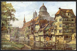 AK  Nürnberg, Insel Schutt. Gemäldekarte    5g