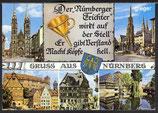 AK Gruß aus Nürnberq Mehrbildkarte    83p