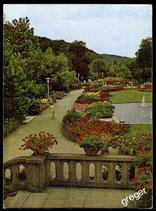 AK Bad Kissingen, Blick auf den Rosengarten    71/21
