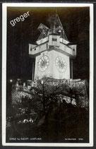AK Deutsches Reich Graz bei Nacht , Uhrturm   45/8