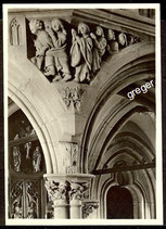 Gelnhausen, Marienkirche, Gruppe der Seligen am Lettner  74/14