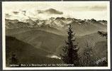 AK Jachenau, Blick vom Bärenhaupt    55/28
