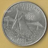 QUARTER DOLLAR - Rhode Island von 2001  -   1x