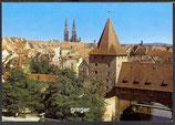 AK Nürnberg, Blick auf die Altstadt    86p