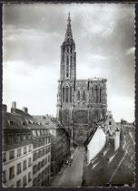 AK Strasbourg, Cathedrale et Rue Mercière     34/15