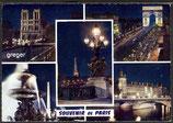 AK Paris, Mehrbildkarte    73-o