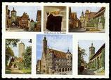 AK Rothenburg ob der Tauber, Mehrbild   68/34